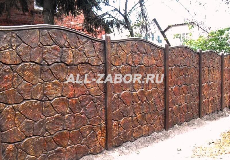 Купить в красноярске забор из бетона раствор цементный кладочный м200 цена за
