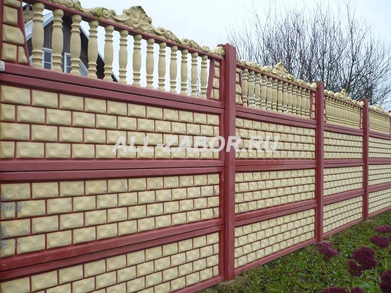 забор из бетона в красноярске купить